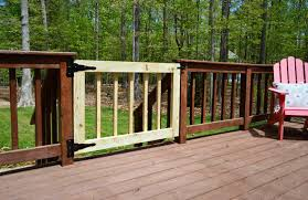 Outdoor Banister Deckgate Literally How To Make A Deck Gate Young House Love
