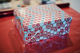 gift wrapped boxes gift wrapping a shoe box a gift decorating idea fab you bliss