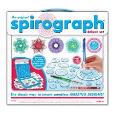spirograph deluxe design set multi colored walmart com
