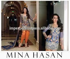 maria b mina hassan designer replica dresses wholesale