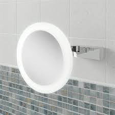 Magnifying Bathroom Mirror Hib Libra Led Magnifying Bathroom Mirror