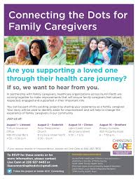 connect the dots for family caregivers community living st marys