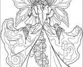 coloring pages fairy coloring pictures fairy coloring pictures