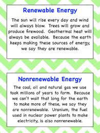 renewable and nonrenewable energy posters for ngss by stem to