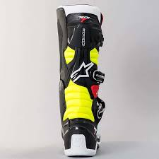 motocross boots size 7 alpinestars new 2017 mx tech 7 dirt bike red black fluro yellow