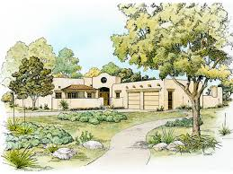 southwestern home plans bosswood southwestern style home plan 095d 0044 house plans and more