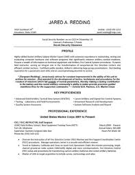 Resume Sample Logistics by Military Resume Examples Tongue And Quill Virtren Com