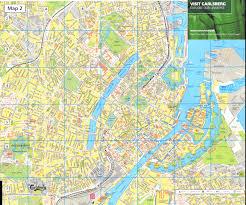 map of copenhagen large copenhagen maps for free and print high