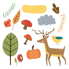 thanksgiving leaves clipart free critter autumn planner stickers and clip art free pretty