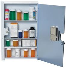 storage cabinet with electronic lock narcotic cabinets safe medication drug storage single double door lock