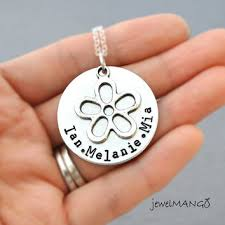 Stamped Name Necklace Shop Kids Name Jewelry On Wanelo
