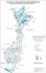 Minnesota On Map Mrbdc Pomme De Terre Major Watershed General Description