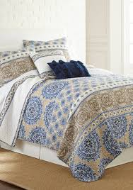 Blue And Gray Bedding Elise James Home Bedding Quilts Comforters U0026 Pillows Belk