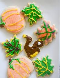 thanksgiving cutout sugar cookies recipe diaries