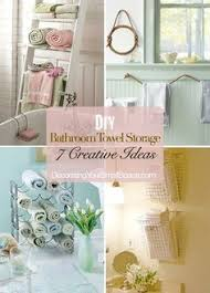 Bathroom Towel Storage Ideas by Kid U0027s Bathroom Diy Towel Rack Initials Towels And Bath