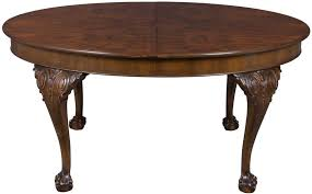 queen anne dining room furniture queen anne dining table in burl walnut
