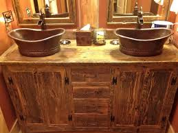 rustic bathroom cabinets vanities bathroom ideas vessel rustic double sink bathroom vanity under