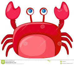 cartoon crab stock images image 14083524