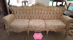 Shabby Chic Upholstery Fabric by Painting Fabric With Chalk Paint Shabby Paints