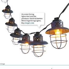 Target Outdoor Lights String These Outdoor Lights Are Awesome Smith U0026 Hawken Metal Cage String