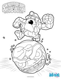 skylander coloring page skylanders trap team coloring pages food