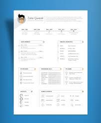 Resum Cv Free Simple Resume Cv Template Design For Art Director