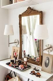 Makeup Vanity Tray Take A Peek Inside Sara Mueller U0027s Pretty Pink Home Round Mirrors