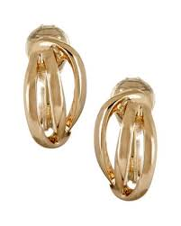 gold clip on earrings clip earrings bealls florida