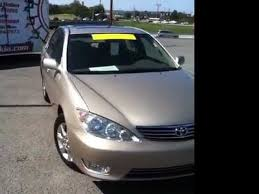 toyota xle used for sale certified used 2005 toyota camry xle demonstration used cars