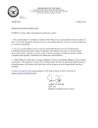 sample airforce recommendation letter promotion recommendation