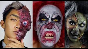 extreme halloween makeup tutorials by kyne youtube