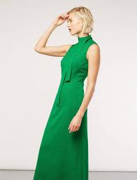 sleeveless maxi dress emerald green cefinn by samantha cameron