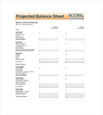 Excel Balance Sheet Template Free Sheet Template 18 Free Word Excel Pdf Documents