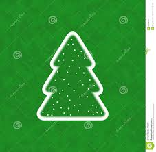 green paper cut out christmas tree stock image image 32326331