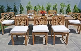 teak patio furniture outdoor dining set expansion table teak outdoor dining set with expansion table