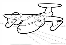 klsgfx red plane 2 black white line coloring book colouring