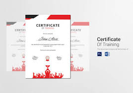 sample certificate 28 documents in word pdf psd