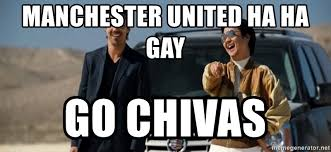 Mr Chow Gay Meme - manchester united ha ha gay go chivas mr chow funny eel meme