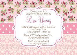 vintage baby shower invitations shabby vintage pink baby shower invitation girl diy