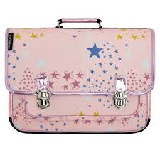 stickers etoile rose large pink satchel with stars caramel u0026 cie child accessory
