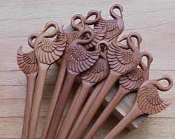 hair sticks wooden hair sticks etsy