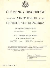 honorable discharge certificate discharge wikiwand