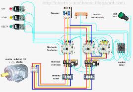 unique delta starter wiring diagram delta starter motor