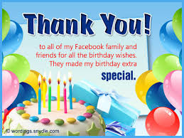 birthday thank you messages thank you for birthday wishes