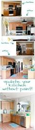 How To Transform Kitchen Cabinets Great Ideas To Update Oak Kitchen Cabinets Kitchen Wood