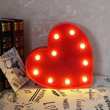 Red Heart Fairy Lights by Plastic Heart Decorations Promotion Shop For Promotional Plastic