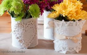 Tin Vases Beautiful Thanksgiving Table Decor On A Small Budget Home With