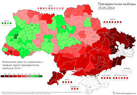 Early Election Results Map by Ukraine U0027s 2014 Presidential Election Result Is Unlikely To Be