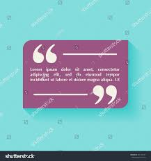 quote blank template design elements circle stock vector 391105141