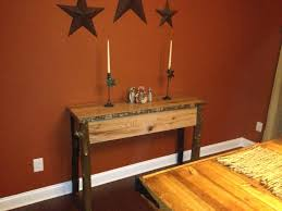 Rustic Buffet Tables by Ana White Rustic Buffet Table Diy Projects